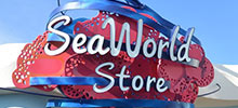 SeaWorld Store Sign by Signtech for Explorer's Reef Exhibit